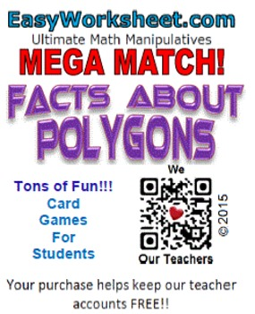 Mega Match - Facts About Polygons