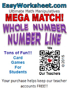 Mega Match - Whole Numbers - Number Line