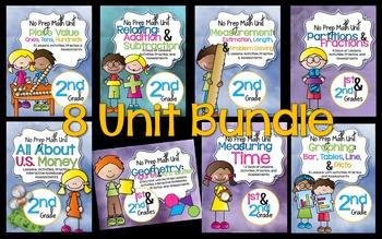 Mega Math Bundle 2nd Grade