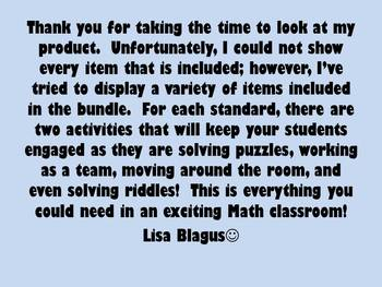 Mega Math Bundle - Games, Activities, Stations, & More!