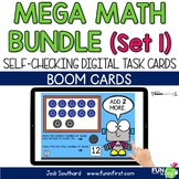 Mega Math Bundle Set 1 - Digital Task Cards | Boom Cards |