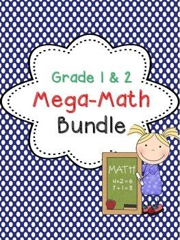 Math Games and Centers MEGA Bundle
