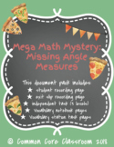 Mega Math Mystery: Missing Angle Measures **BUNDLE** 4.MD.5