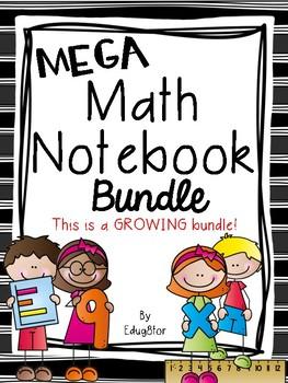 Mega Math Notebook Bundle