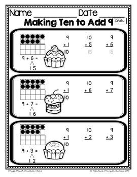 First Grade Math Mega Math Practice FREEBIE PREVIEW 1.OA