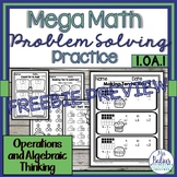 Number Sense Mega Math Practice FREEBIE PREVIEW 1.OA