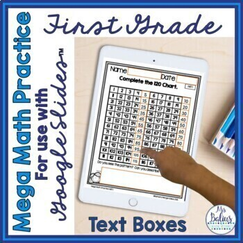 Numbers and Operations in Base Ten Mega Math Practice Bundle First Grade