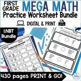 Digital Base Ten Place Value Google Slides™ Mega Math Practice Bundle 1.NBT