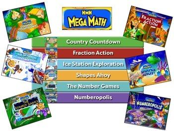 Mega Math Visual Skill Cues