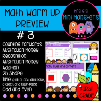 Math Warm Up #3 Preview