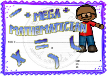 Mega Mathematician!