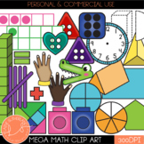 Mega Math Clip Art Set - 490 MATH CLIP ART IMAGES!!