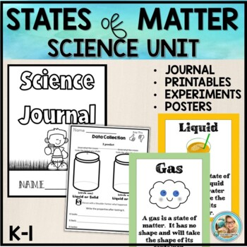 Properties of Matter Unit - Science  K-3 by Teacher's Brain