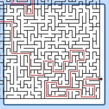 Mega Maze - Adult Level Mazes Clip Art Set for Commercial Use
