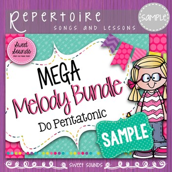 Mega Melody Bundle: Do Pentatonic SAMPLE