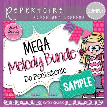 Mega Melody Bundle: Do Pentatonic SAMPLE