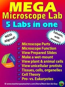 MEGA Microscope Lab: NGSS Aligned