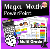 Mega Middle Years Math Warm Up PPT!