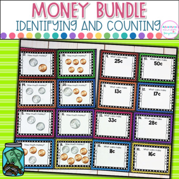 Money Bundle- Identifying and Counting Coins