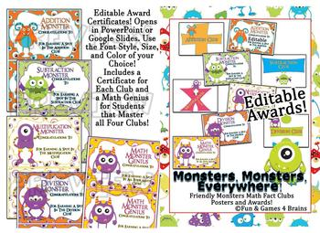 Mega Monster themed bundle! labels, tags, alphabet strip, banner!