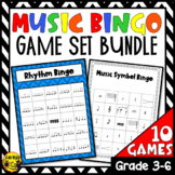 Music Bundle Bingo Games