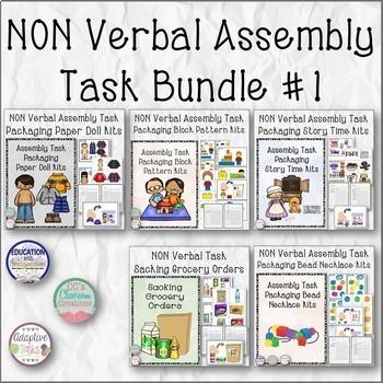 Mega Nonverbal Task Bundle