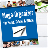 Mega Organizer for Home, School and Office