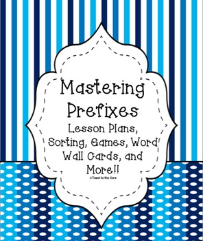 Mega Pack: Mastering Prefixes 2nd through 4th Grade