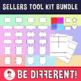 Mega Pack Seller's Toolkit Bundle 1 - Frames, Shapes, Backgrounds, M. Exerc....