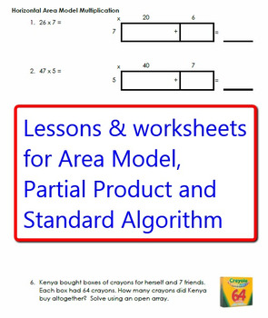 Mega Pack of Multiplication Lessons, Worksheets and Resources