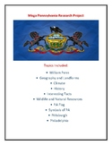 Mega Pennsylvania Research Project and Webquests!