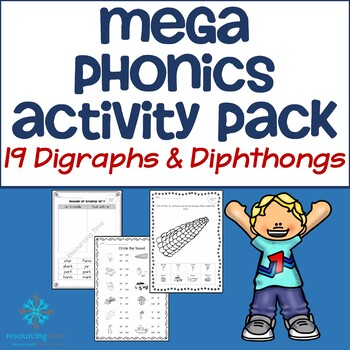 Mega Phonics Activity Pack