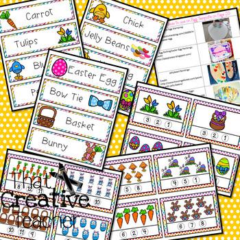 Mega Preschool Easter Bundle