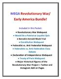Mega Revolutionary War Bundle!!!  Nine Resources in One!!