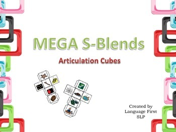 Mega S-Blends Articulation Cubes