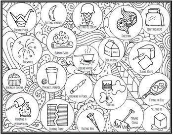 Science Seek and Sort Doodle Pages Mega Bundle