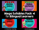 Mega Syllables Pack #1 for Bilingual Students - Spanish!
