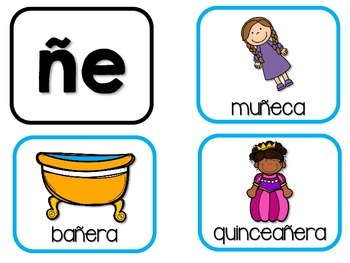 Mega Syllables Pack #5  for Bilingual Students – Spanish!