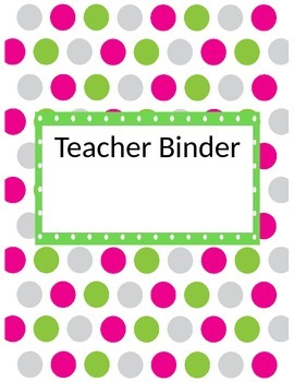 Mega Teacher Binder