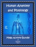 Human Anatomy & Physiology Mega Bundle of 100+ PDF/TpT Dig