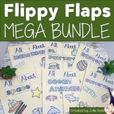 Mega Theme Growing Bundle Activities Interactive Notebook Lapbook