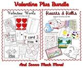 Mega Valentine Bundle - Common Core - Centers, Printables, PEWE Readers 440 pgs