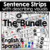 English & Spanish BUNDLE: Mega Visuals for Speech Therapy