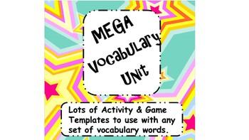 Mega Vocabulary Unit