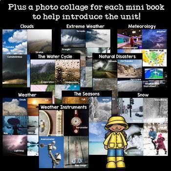 Mega Weather Mini Book Bundle - Complete Weather Unit
