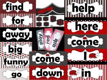Mega Word Wall LADYBUG  THEME 220 WORDS