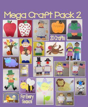 Mega Year Long Craft Pack 2 - 20 Craft Bundle!