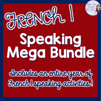 French speaking Mega-bundle for beginners