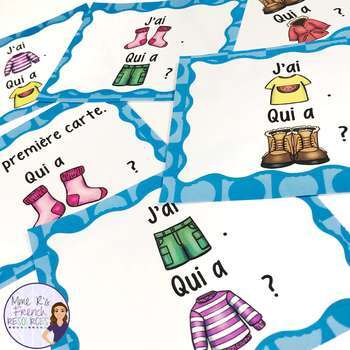 French speaking activities for beginners MEGA BUNDLE