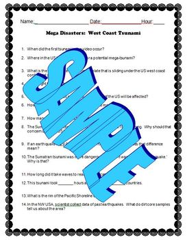 MegaDisasters: West Coast Tsunami Movie Guide